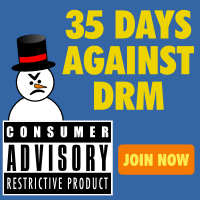 35 days against DRM