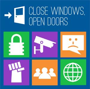 Close Windows, Open Doors