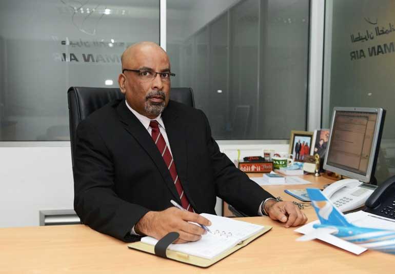 Oman-Air-Sri-Lanka-&-Maldives-Country-Manager-Gihan-Karunaratne