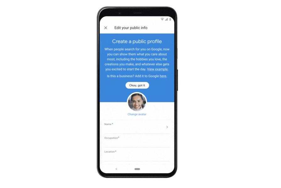 Creating A Public Profile On Google