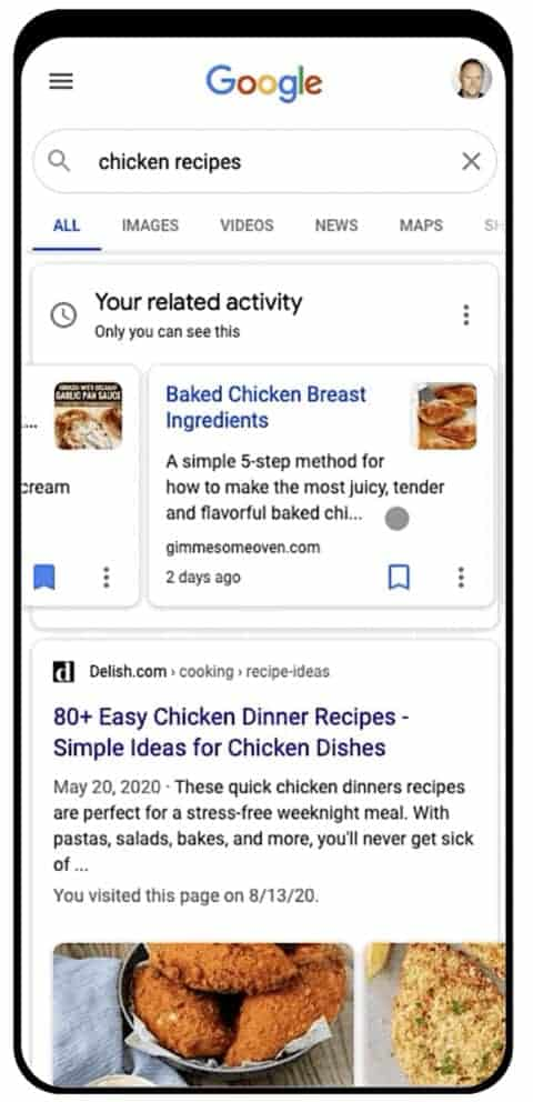 Google Makes it Easier to Find Jobs, Recipes, and Products