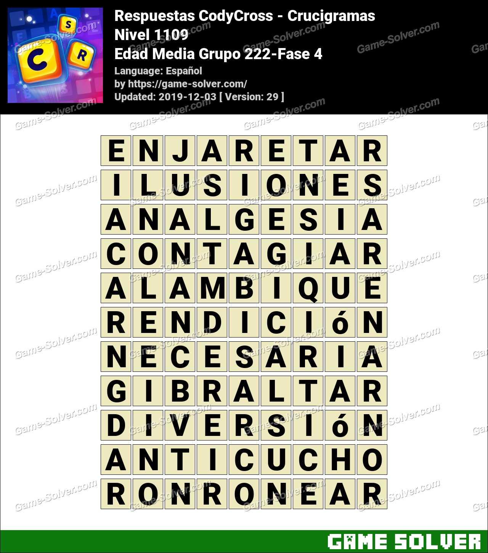 Respuestas CodyCross Edad Media Grupo 222-Fase 4