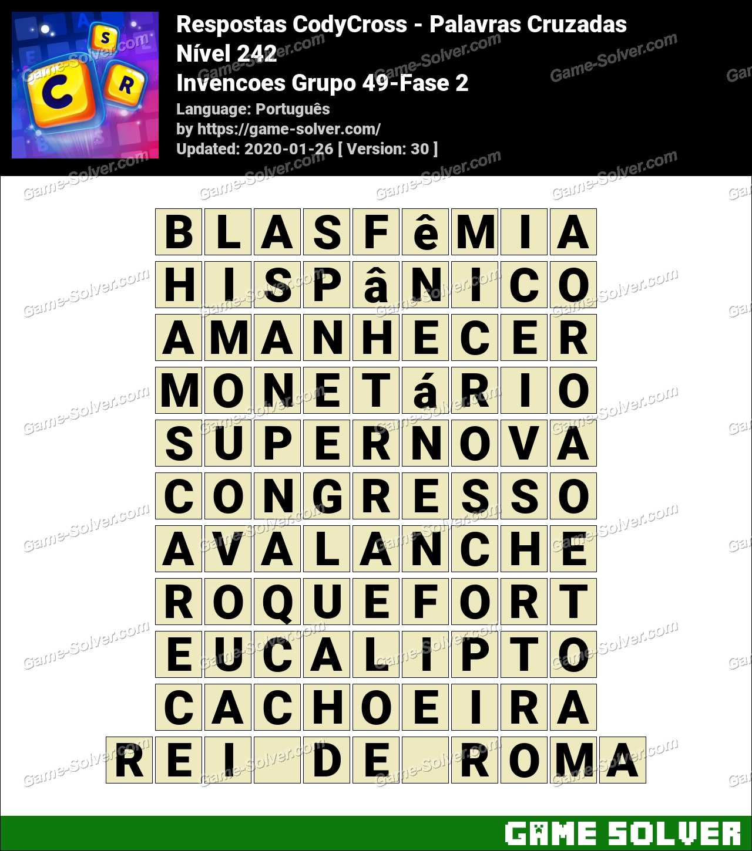 Respostas CodyCross Invencoes Grupo 49-Fase 2