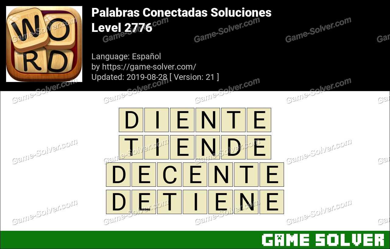 Palabras Conectadas Nivel 2776 Soluciones