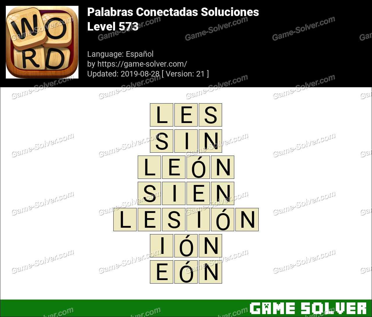 Palabras Conectadas Nivel 573 Soluciones