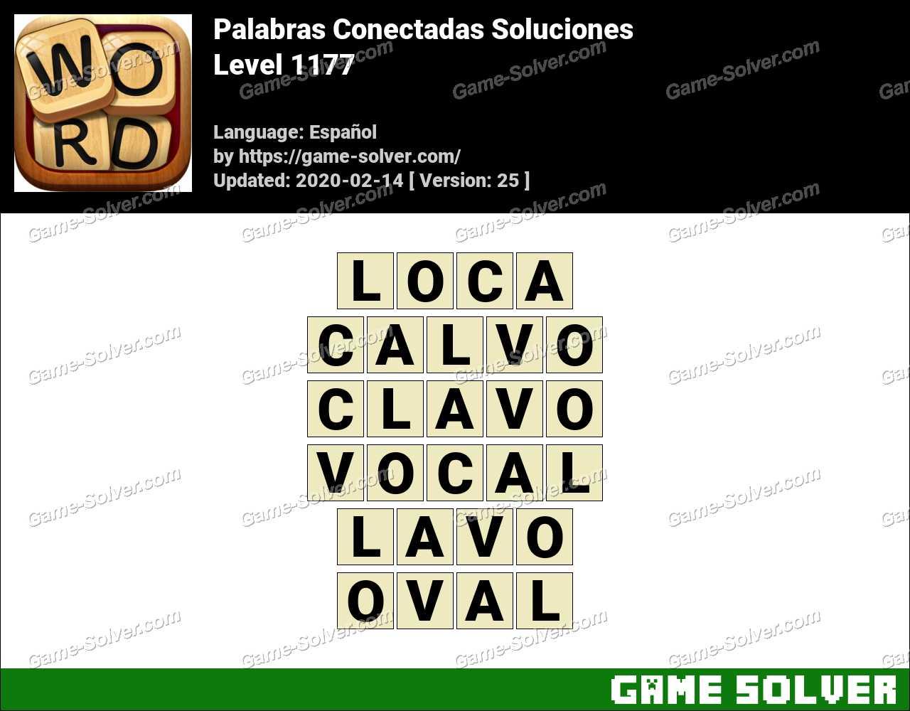 Palabras Conectadas Nivel 1177 Soluciones