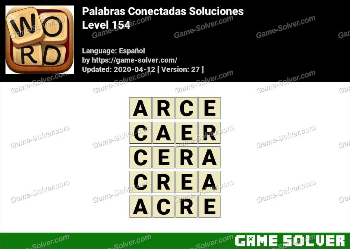 Palabras Conectadas Nivel 154 Soluciones