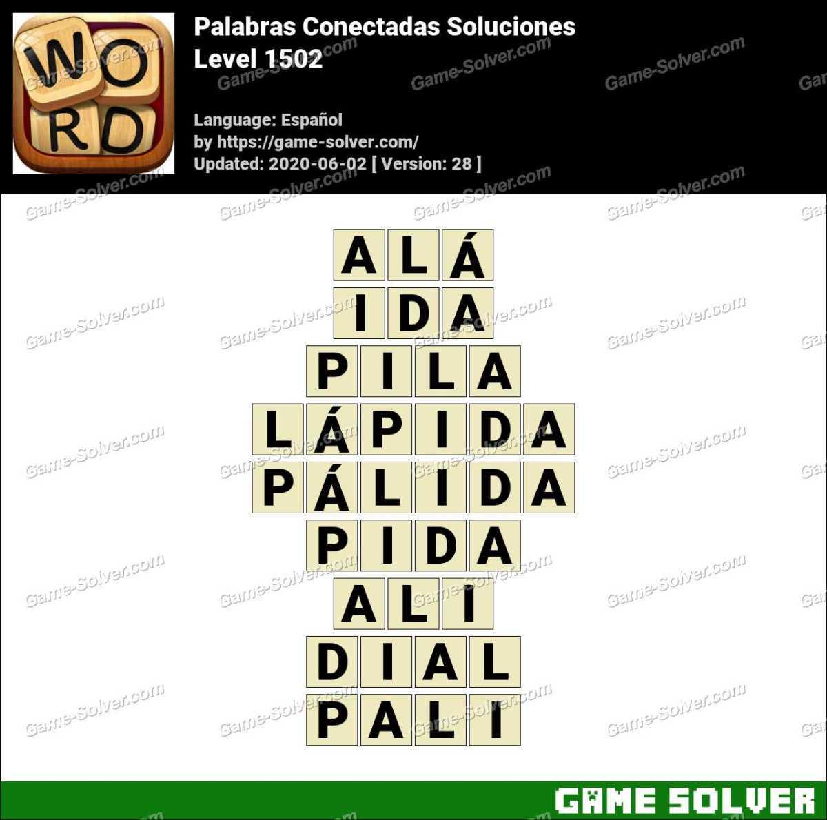 Palabras Conectadas Nivel 1502 Soluciones