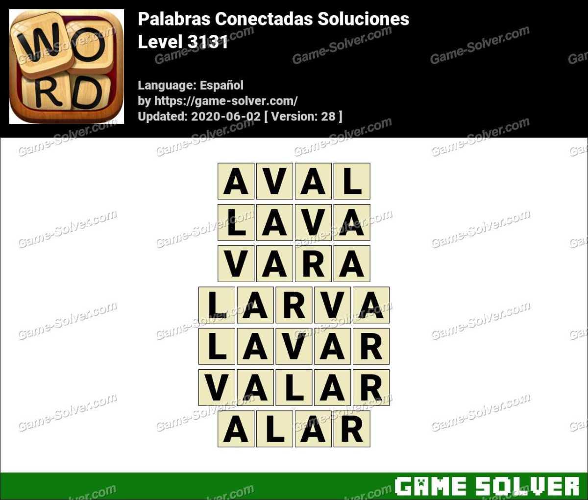 Palabras Conectadas Nivel 3131 Soluciones