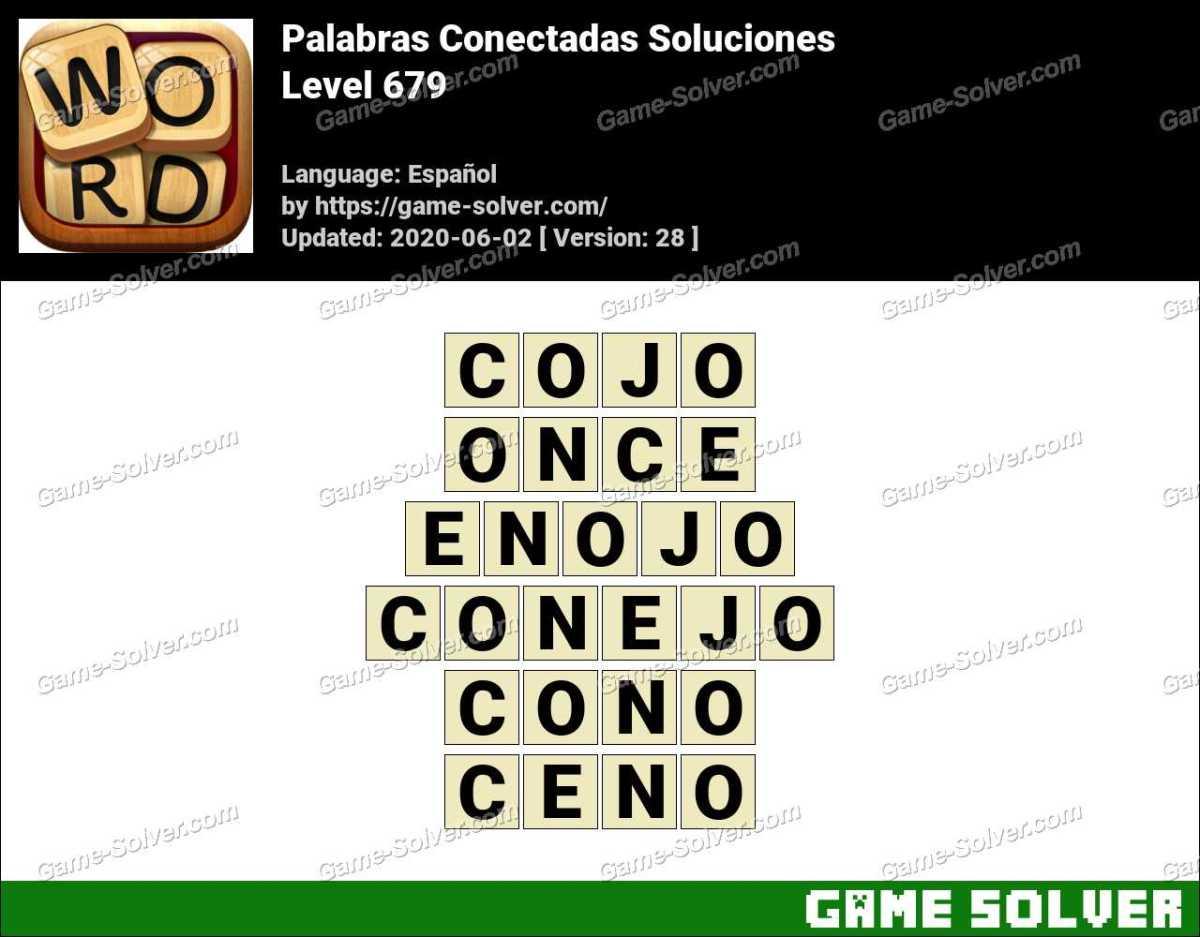 Palabras Conectadas Nivel 679 Soluciones