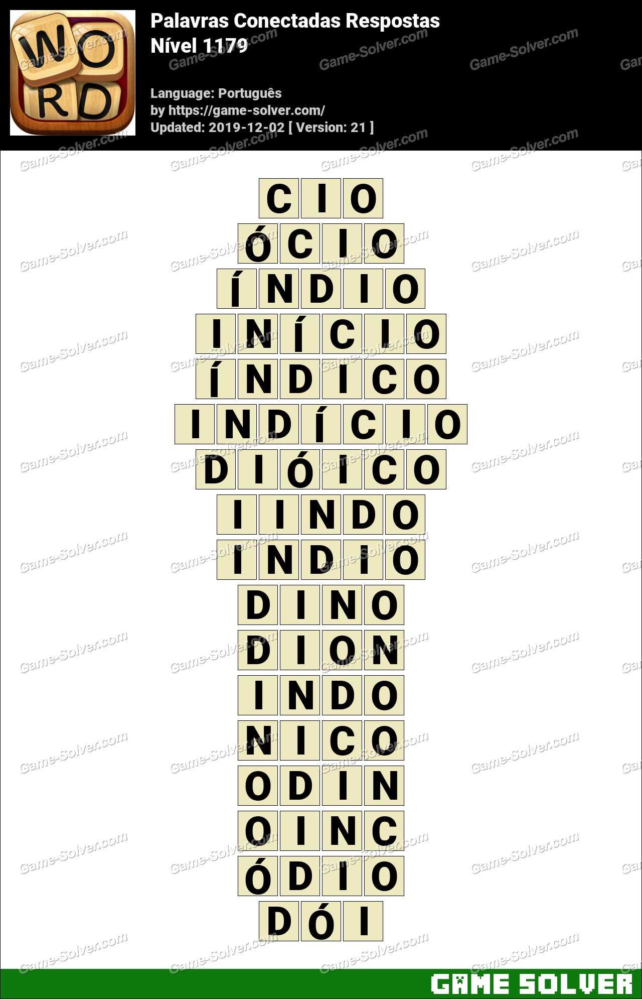 Palavras Conectadas Nivel 1179 Respostas