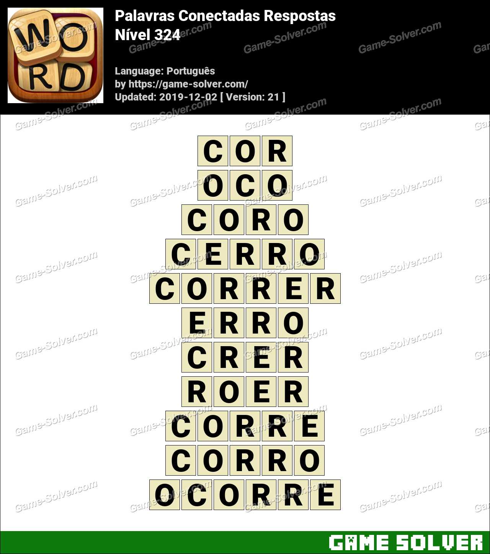 Palavras Conectadas Nivel 324 Respostas