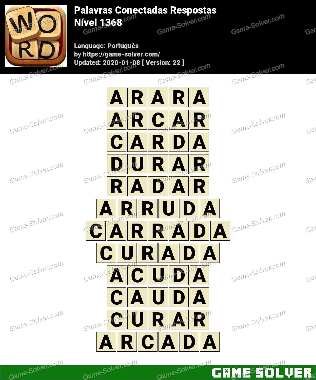 Palavras Conectadas Nivel 1368 Respostas