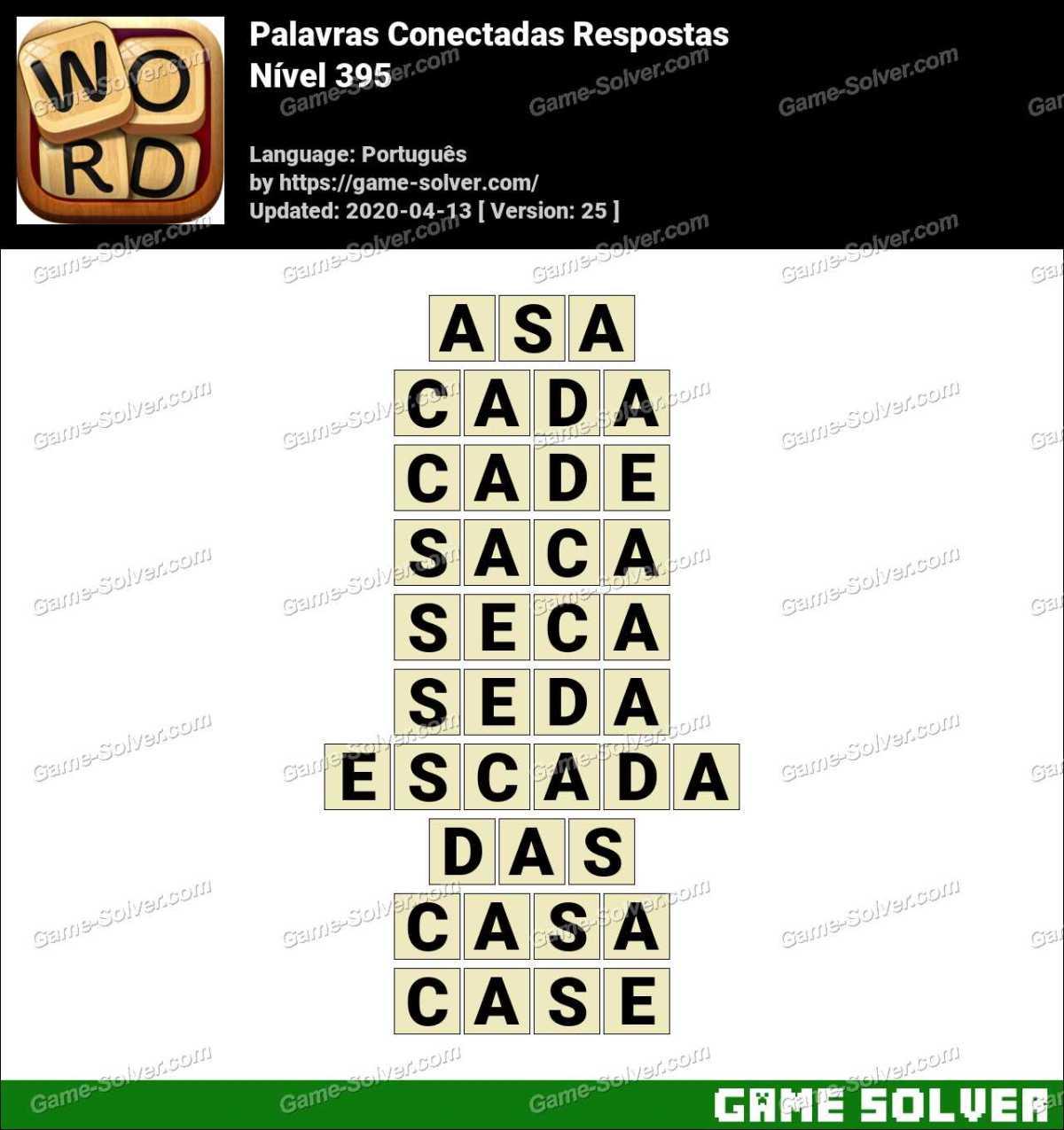 Palavras Conectadas Nivel 395 Respostas