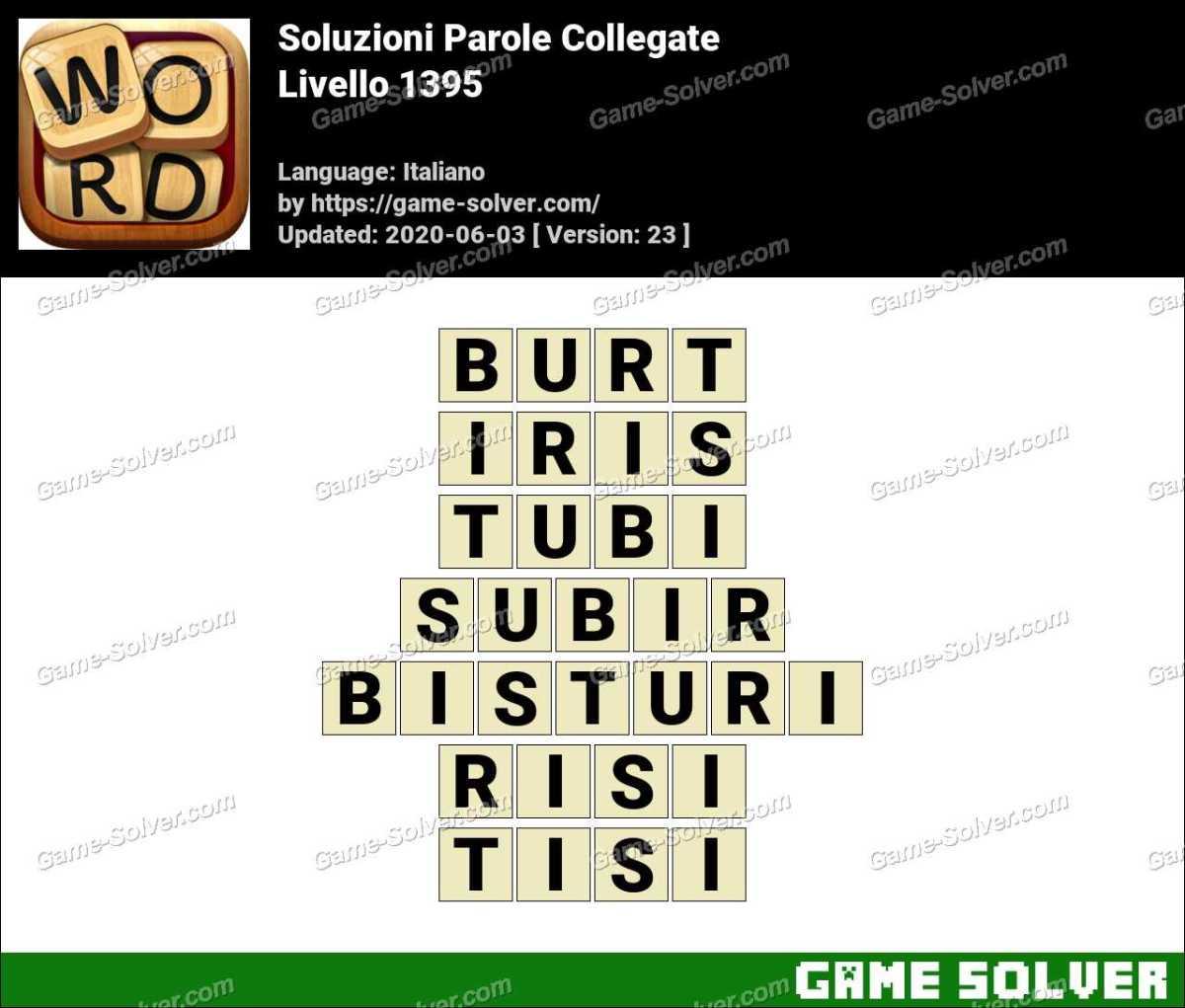 Soluzioni Parole Collegate Livello 1395