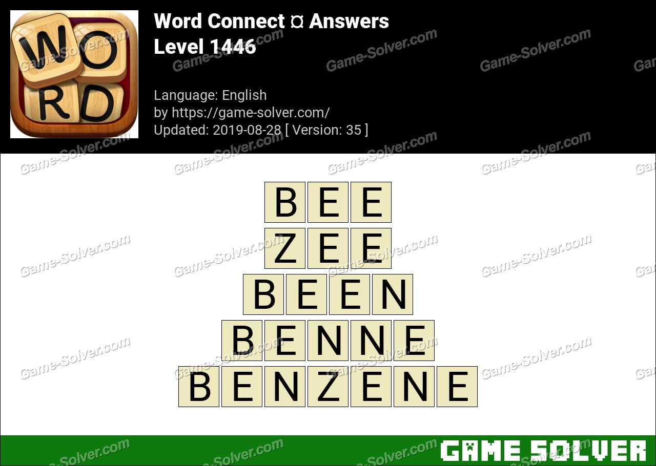 Word Connect Level 1446 Answers