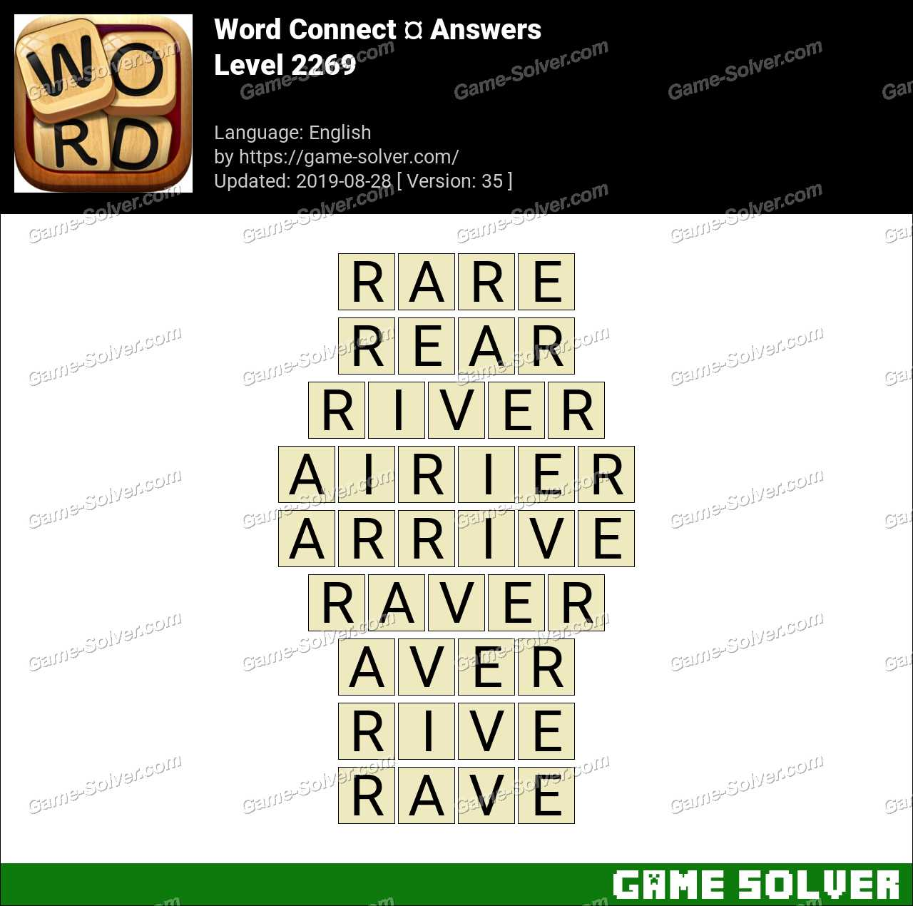 Word Connect Level 2269 Answers