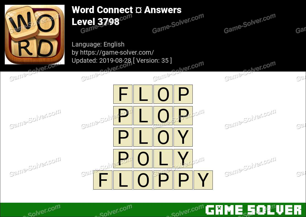 Word Connect Level 3798 Answers