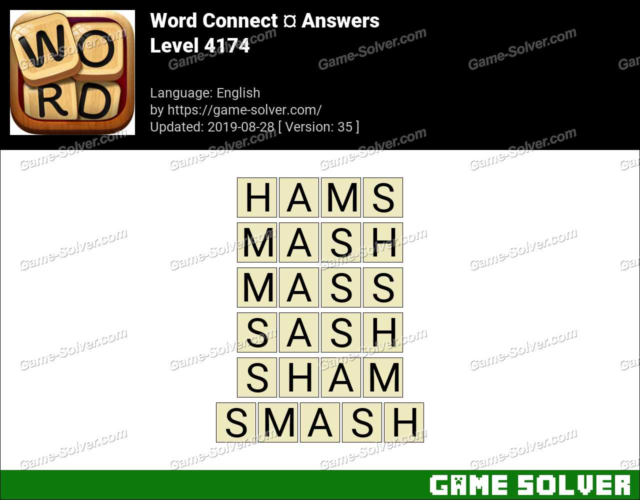 Word Connect Level 4174 Answers