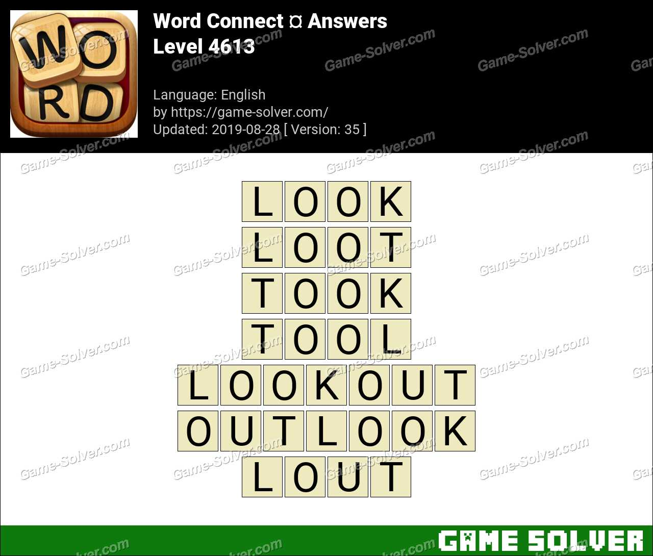 Word Connect Level 4613 Answers