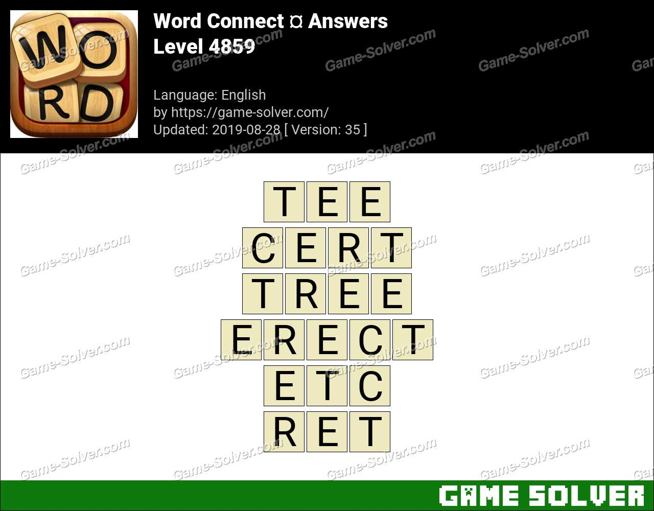 Word Connect Level 4859 Answers