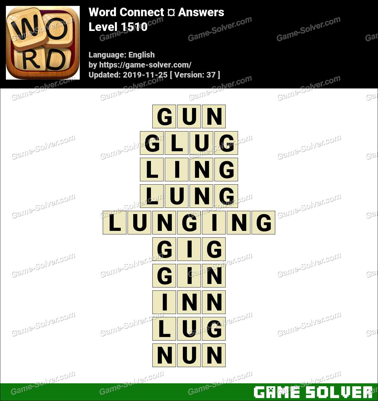 Word Connect Level 1510 Answers