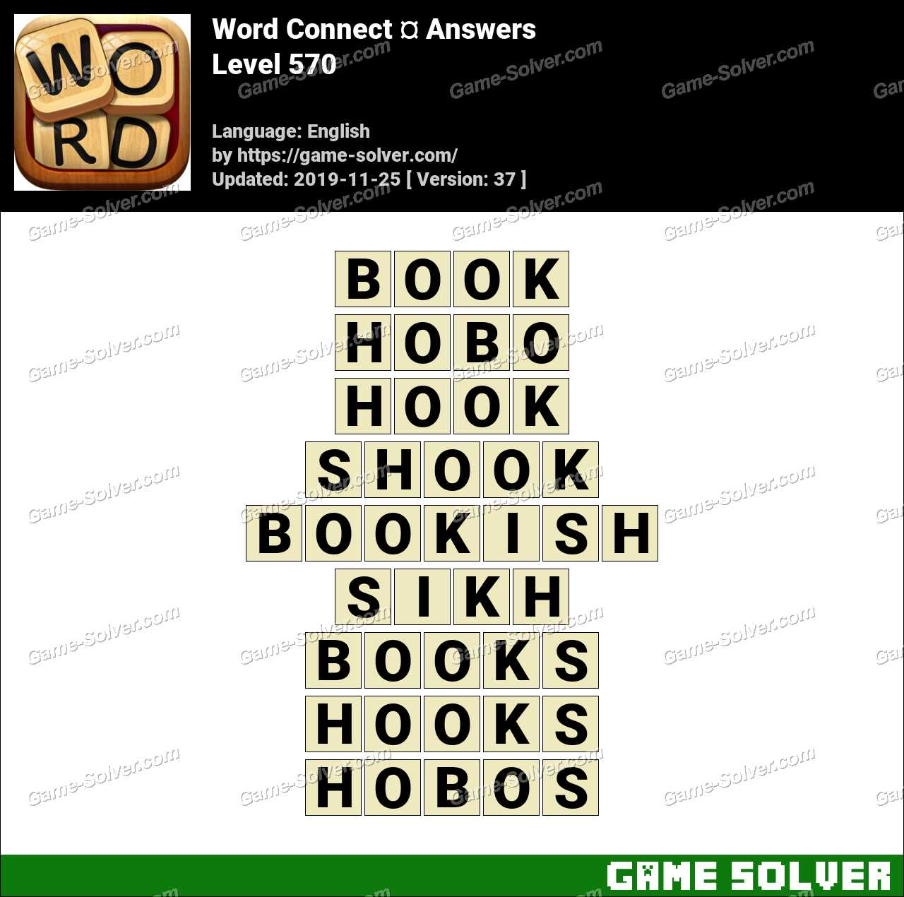 Word Connect Level 570 Answers