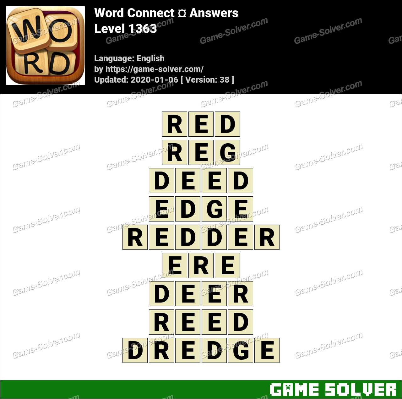 Word Connect Level 1363 Answers