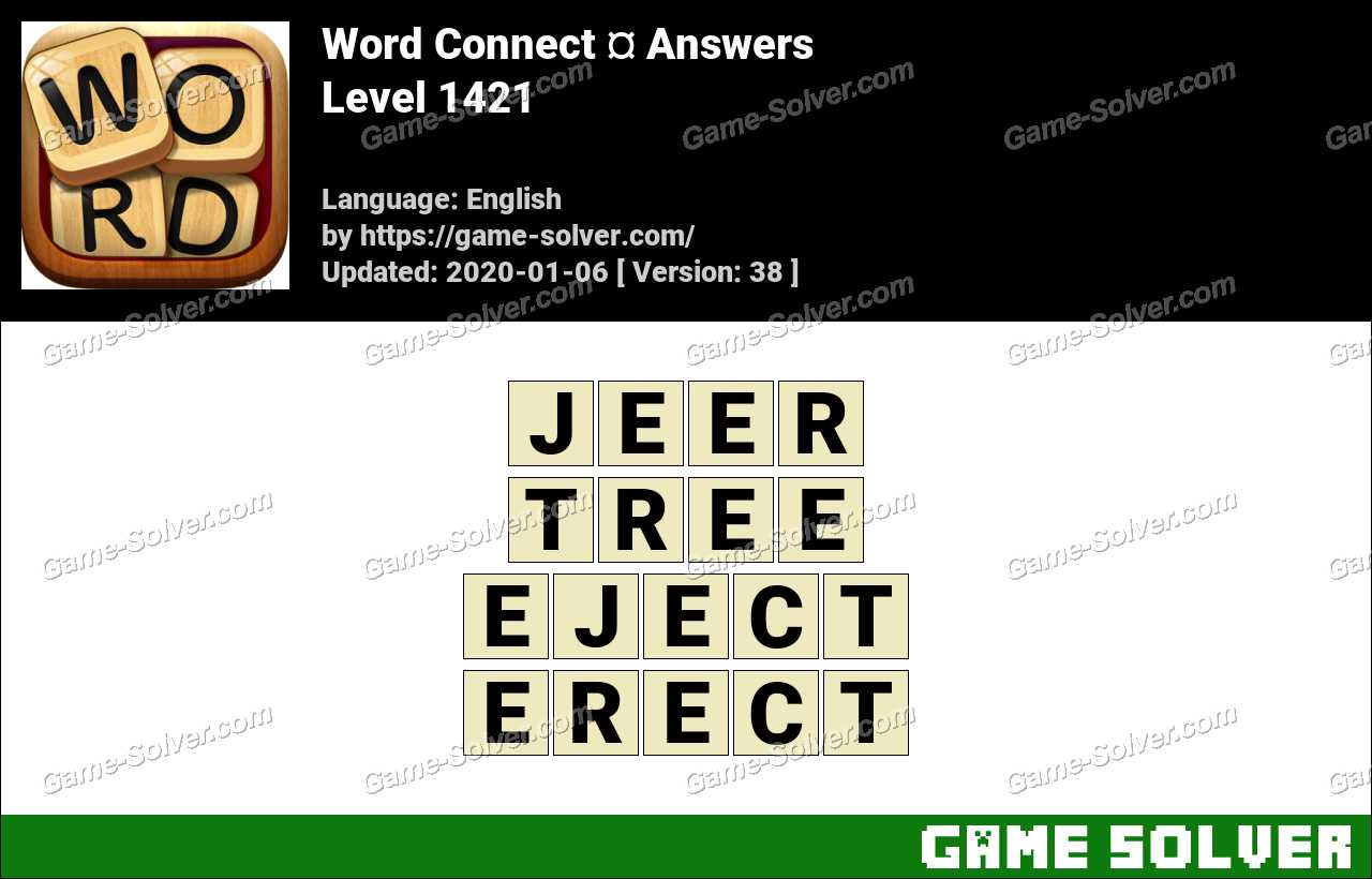 Word Connect Level 1421 Answers