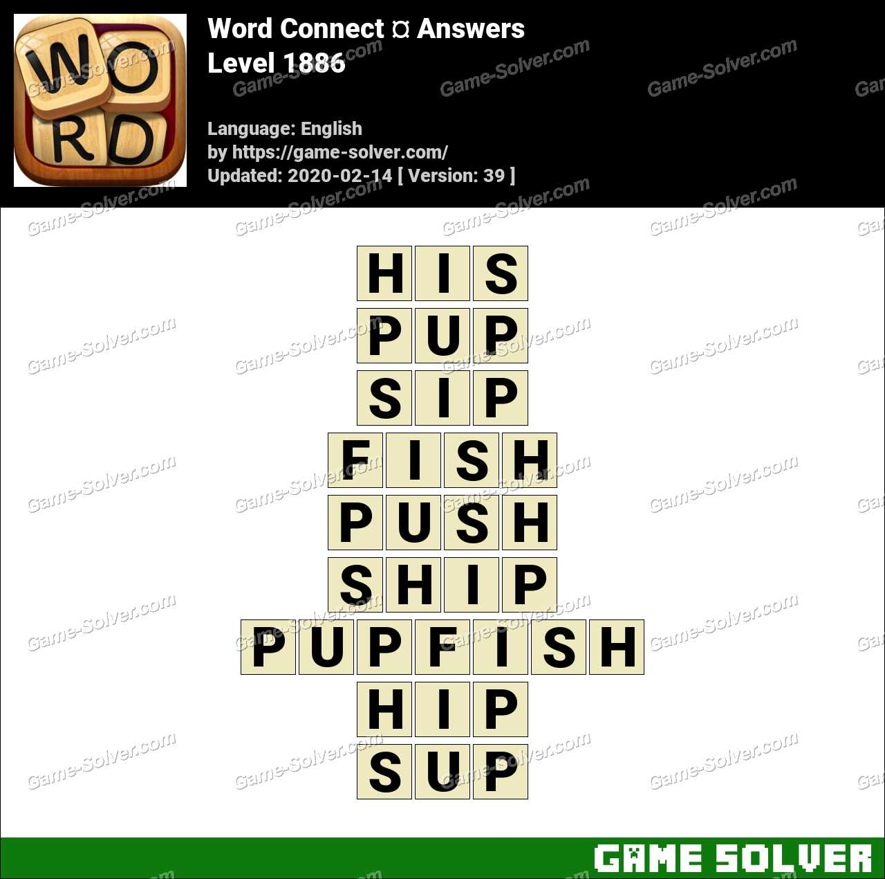 Word Connect Level 1886 Answers