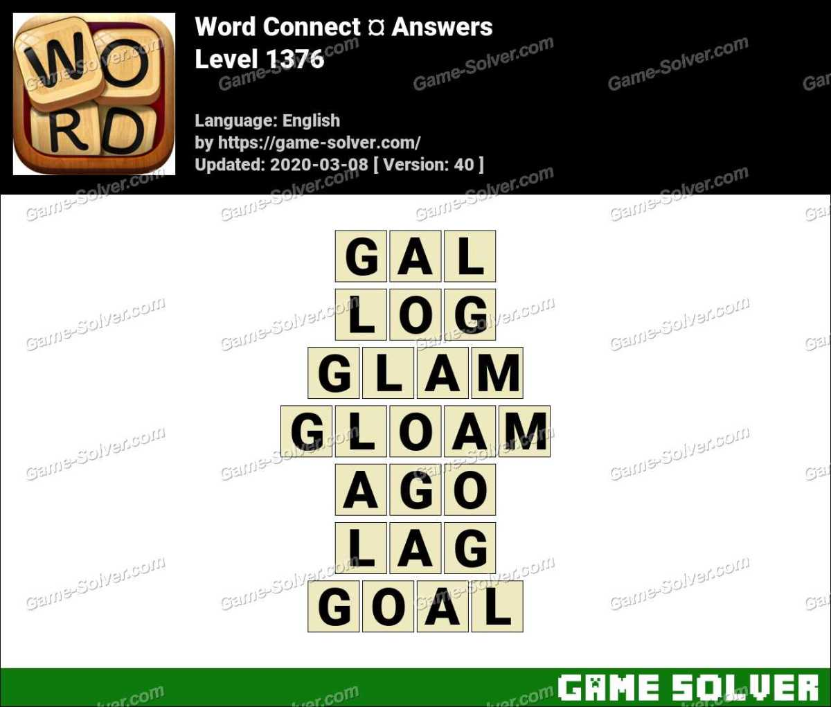 Word Connect Level 1376 Answers