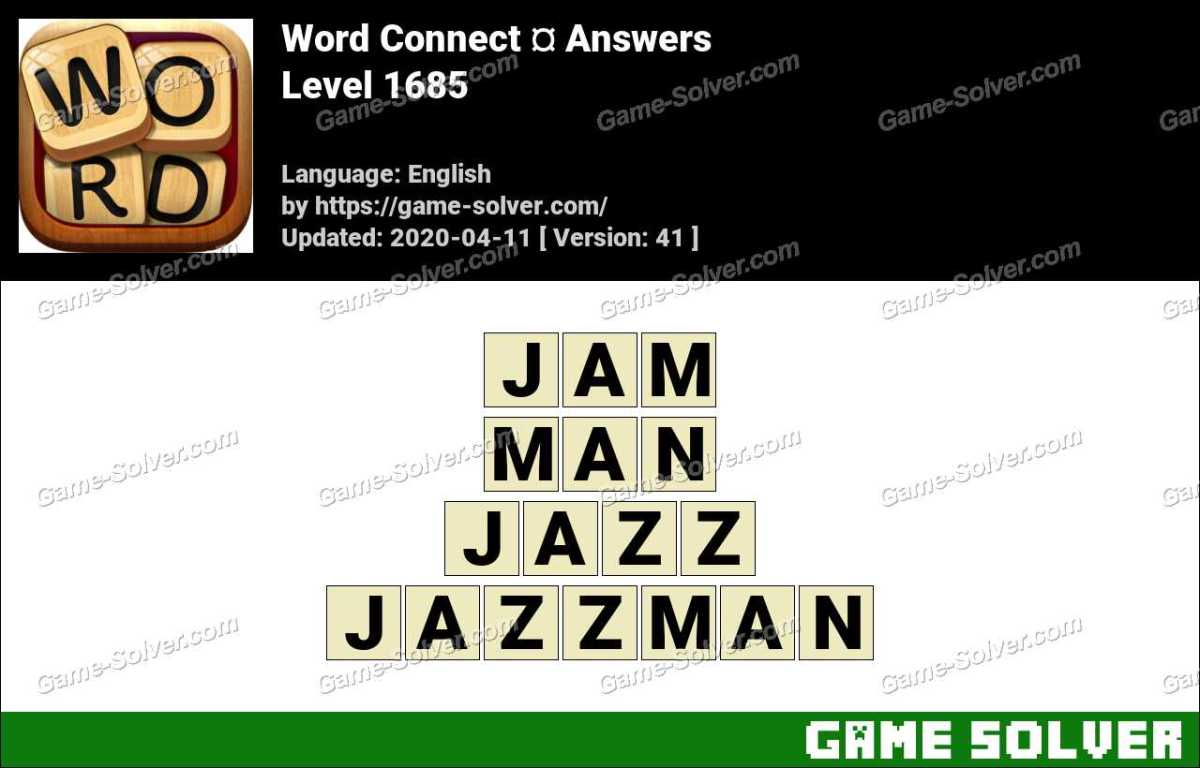 Word Connect Level 1685 Answers