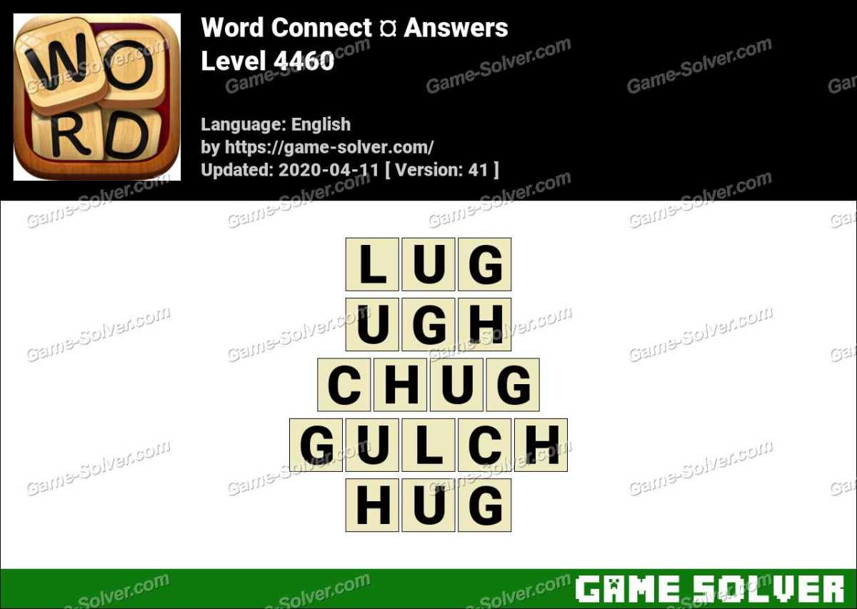 Word Connect Level 4460 Answers