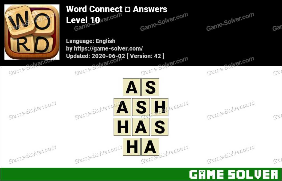 Word Connect Level 10 Answers