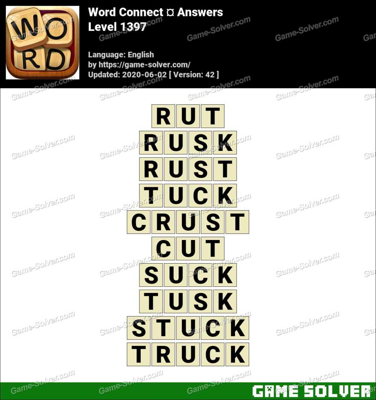 Word Connect Level 1397 Answers