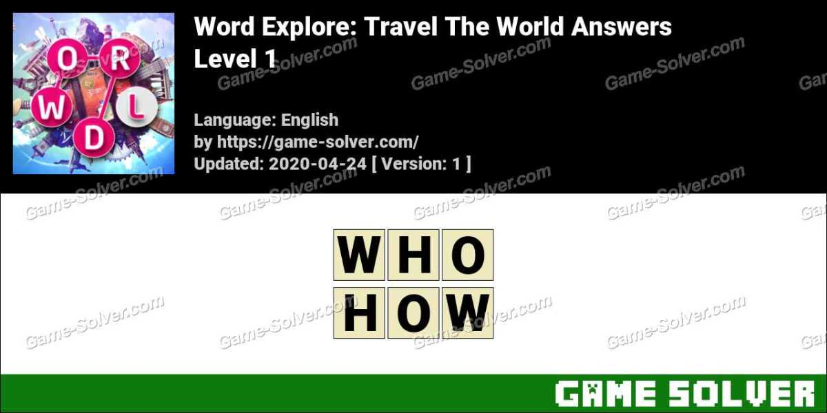 Word Explore Level 1 Answers