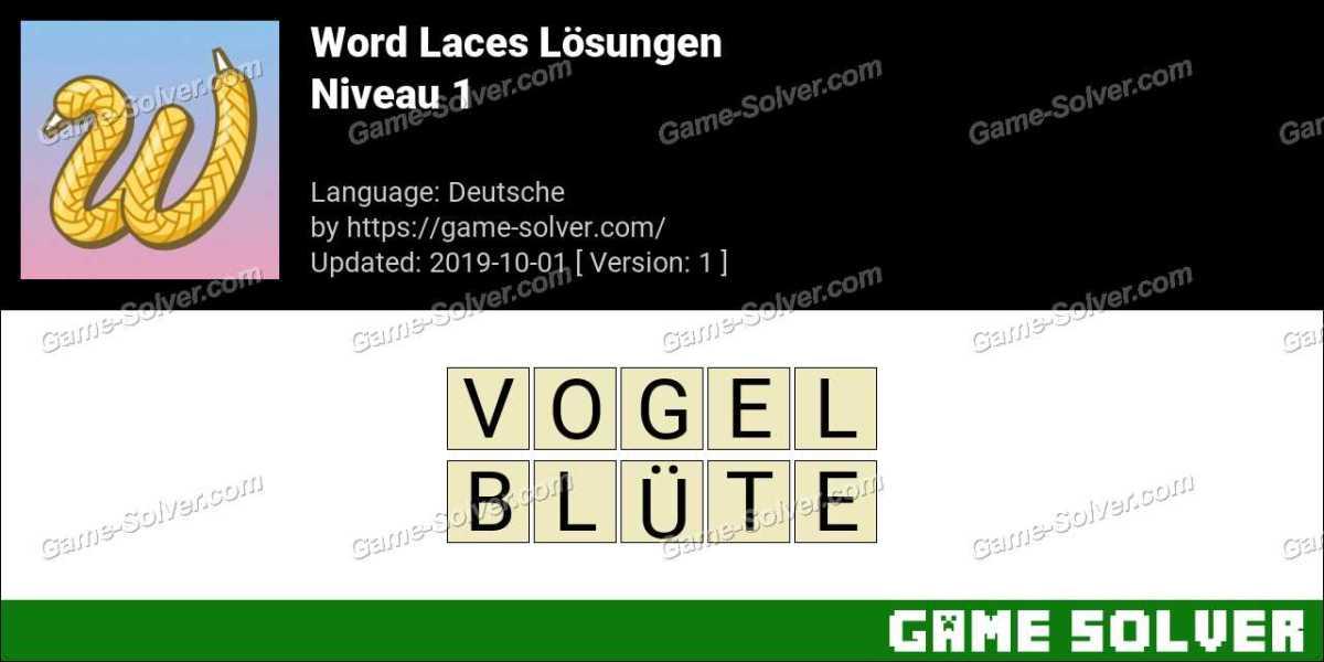 Word Laces Niveau 1 Lösungen