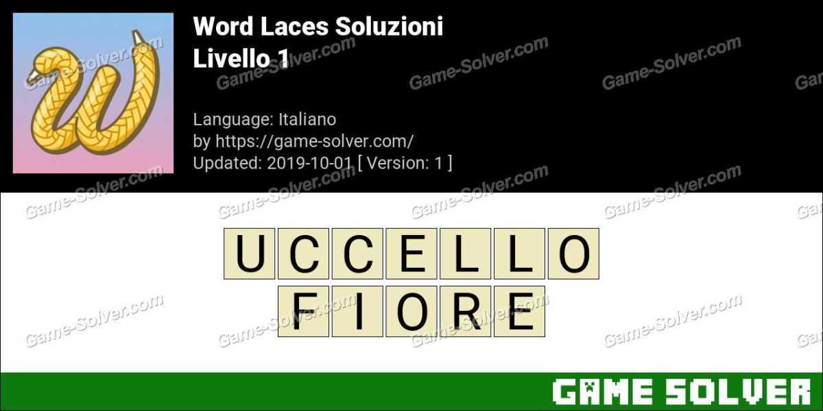 Word Laces Livello 1 Soluzioni