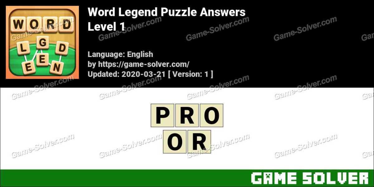 Word Legend Puzzle Level 1