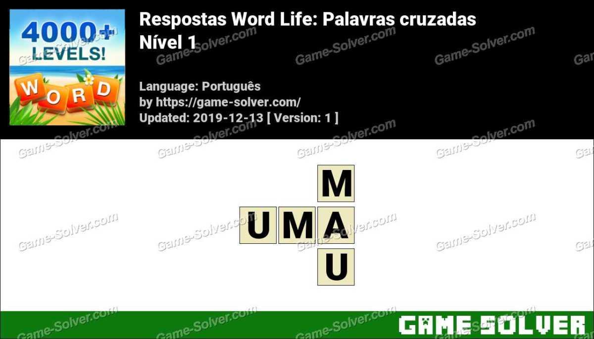 Respostas Word Life Nível 1
