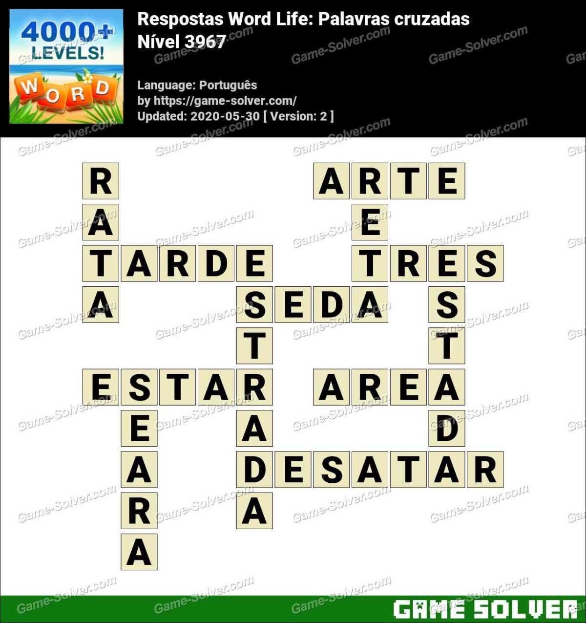 Respostas Word Life Nível 3967