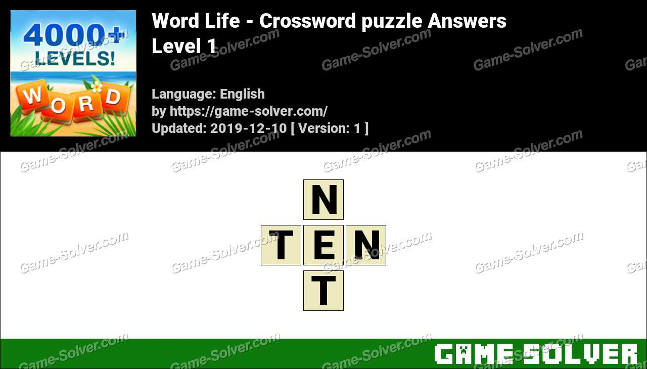 Word Life Level 1 Answers