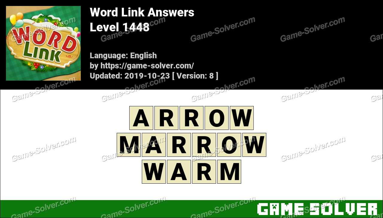 Word Link Level 1448 Answers
