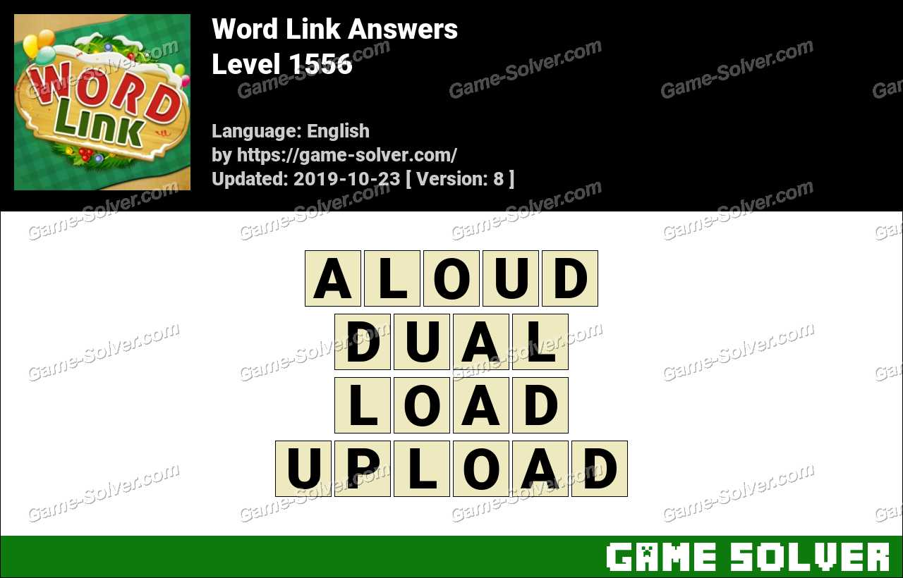 Word Link Level 1556 Answers