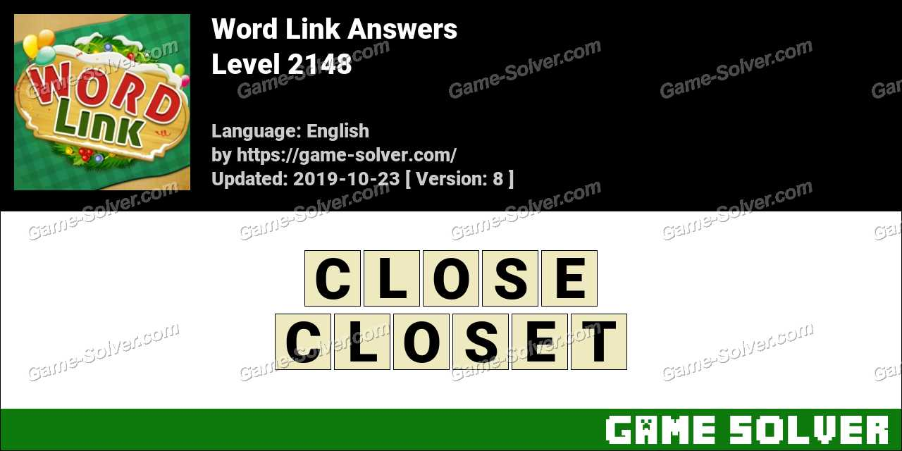 Word Link Level 2148 Answers