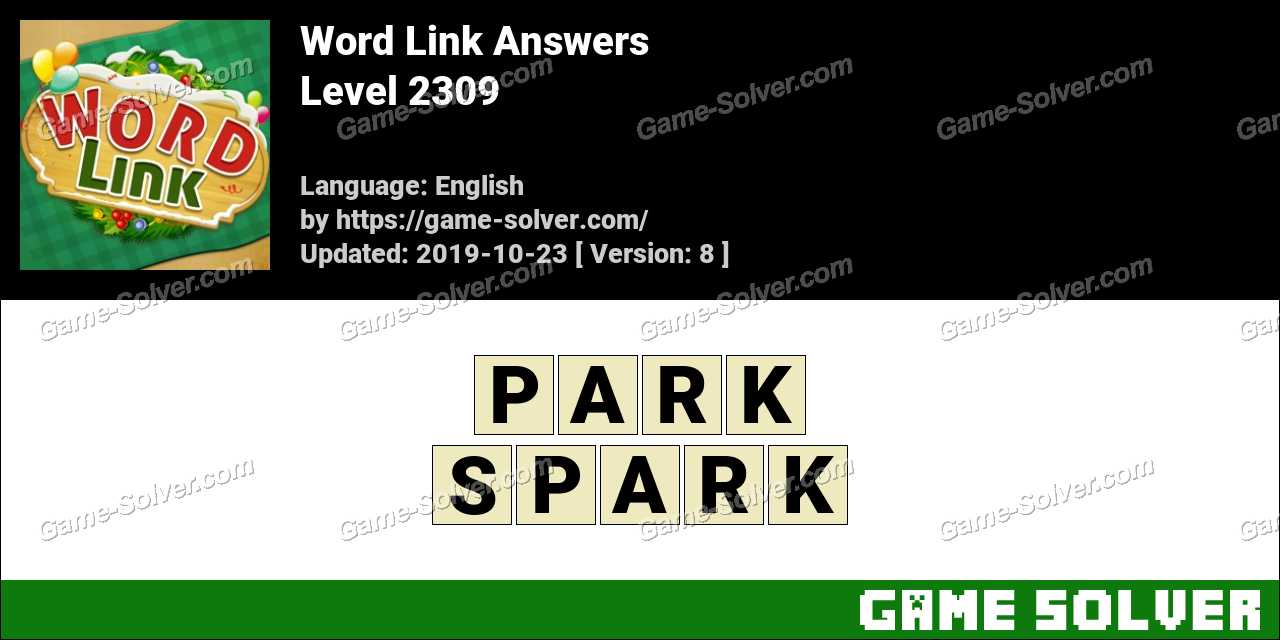 Word Link Level 2309 Answers