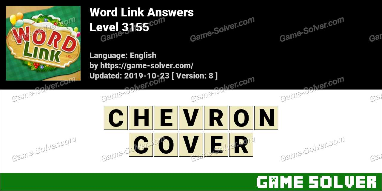 Word Link Level 3155 Answers