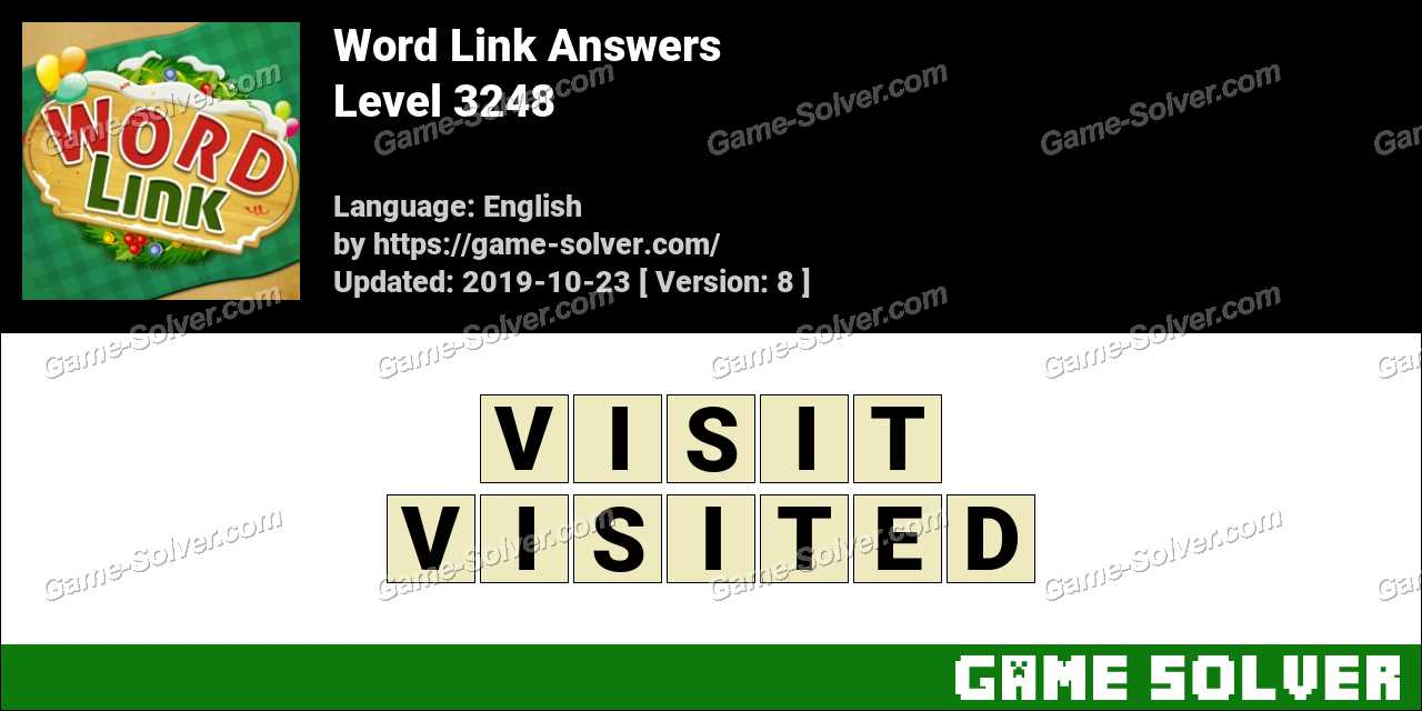 Word Link Level 3248 Answers