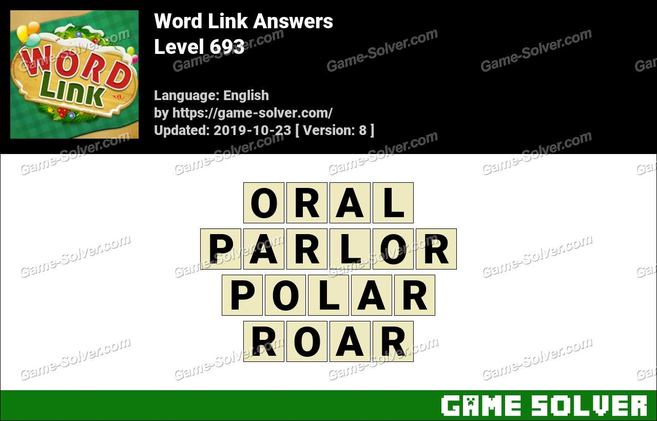 Word Link Level 693 Answers