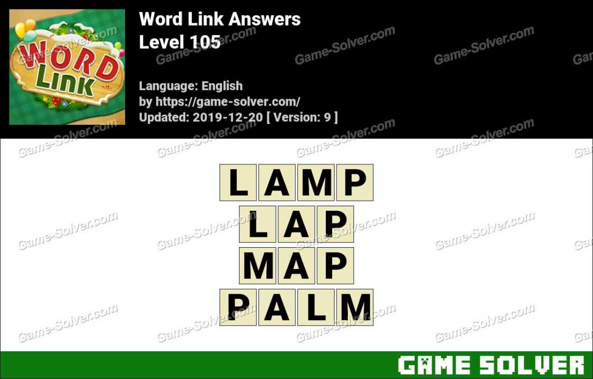 Word Link Level 105 Answers
